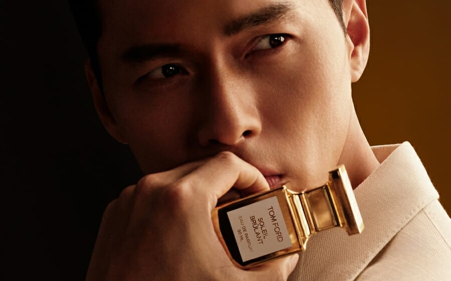 #ManCrushMonday — Hyun Bin is Tom Ford Beauty's First Fragrance Attaché