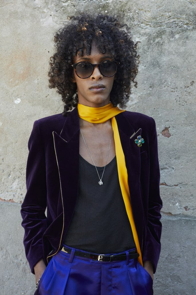 The Saint Laurent Men's Spring Summer 2022 Show Was About the Toughness of Softness