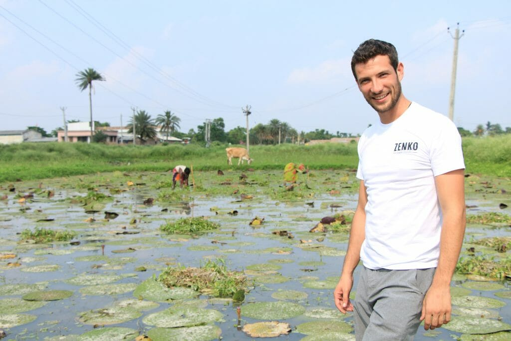 #MensFolioMeets Wouter Duyck, Co-founder of ZENKO Superfoods water lily seeds