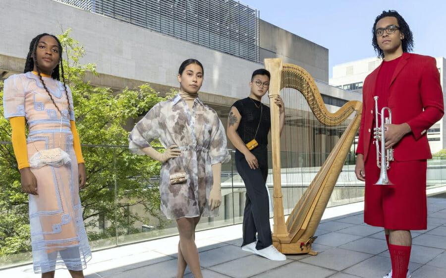 Fendi Has Partnered with The Juilliard School to Launch The Fendi Vanguard Award