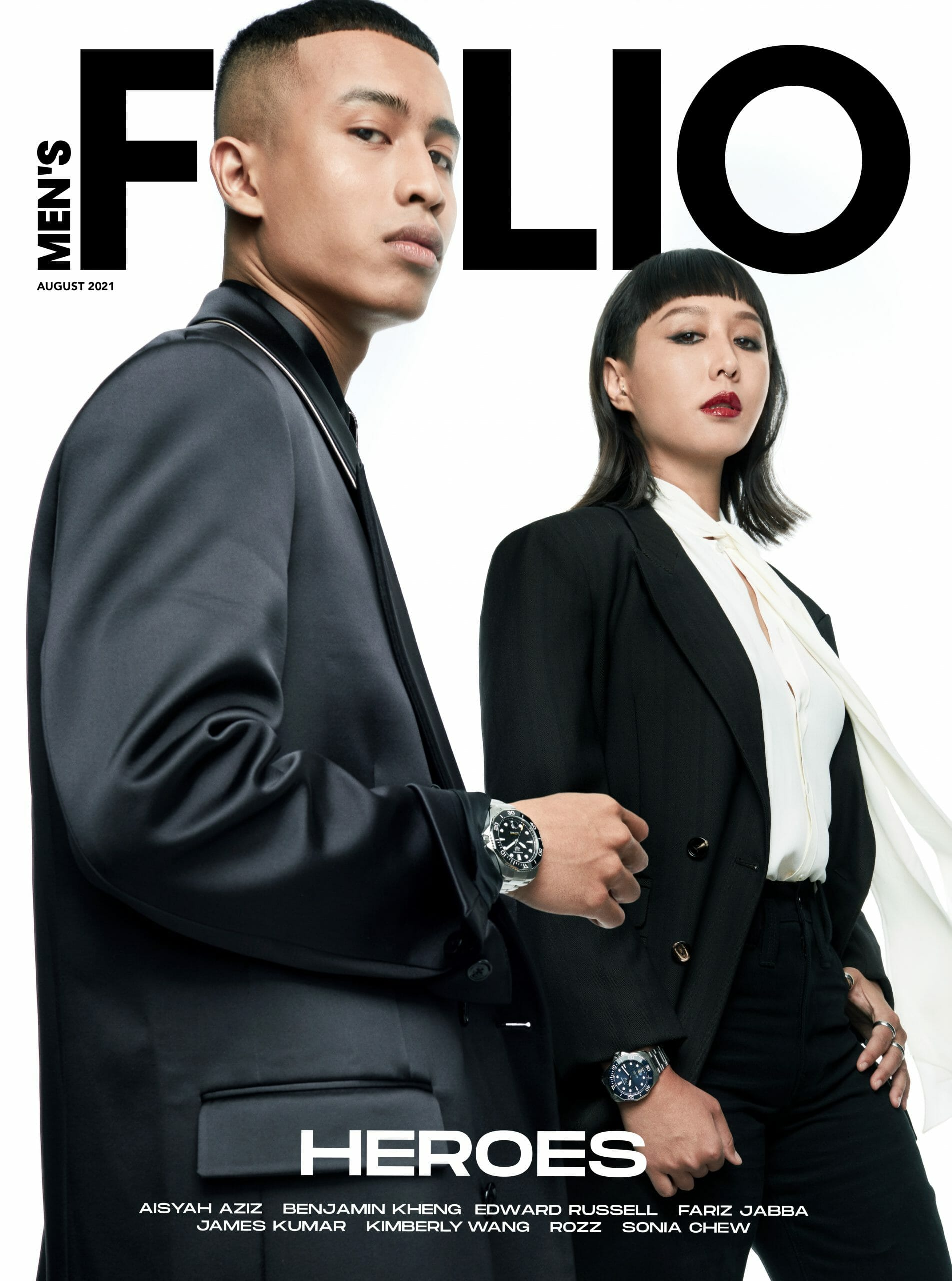 Presenting Fariz Jabba and Rozz, our August '21 Cover Stars