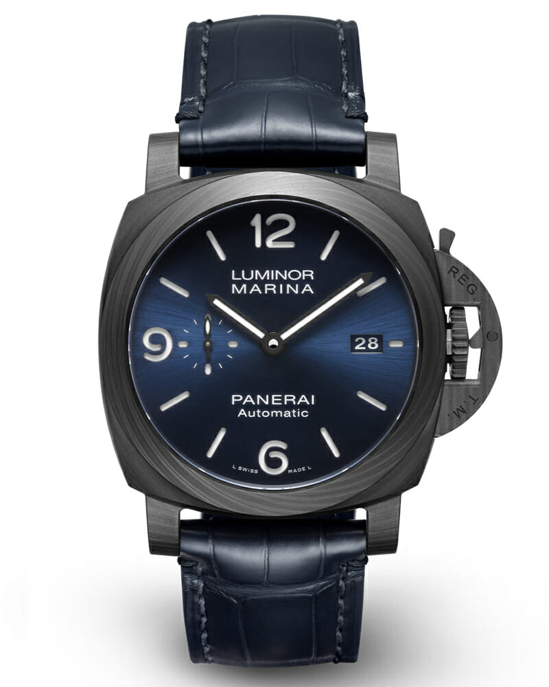 Panerai Unveils the Luminor Marina Carbotech PAM01664