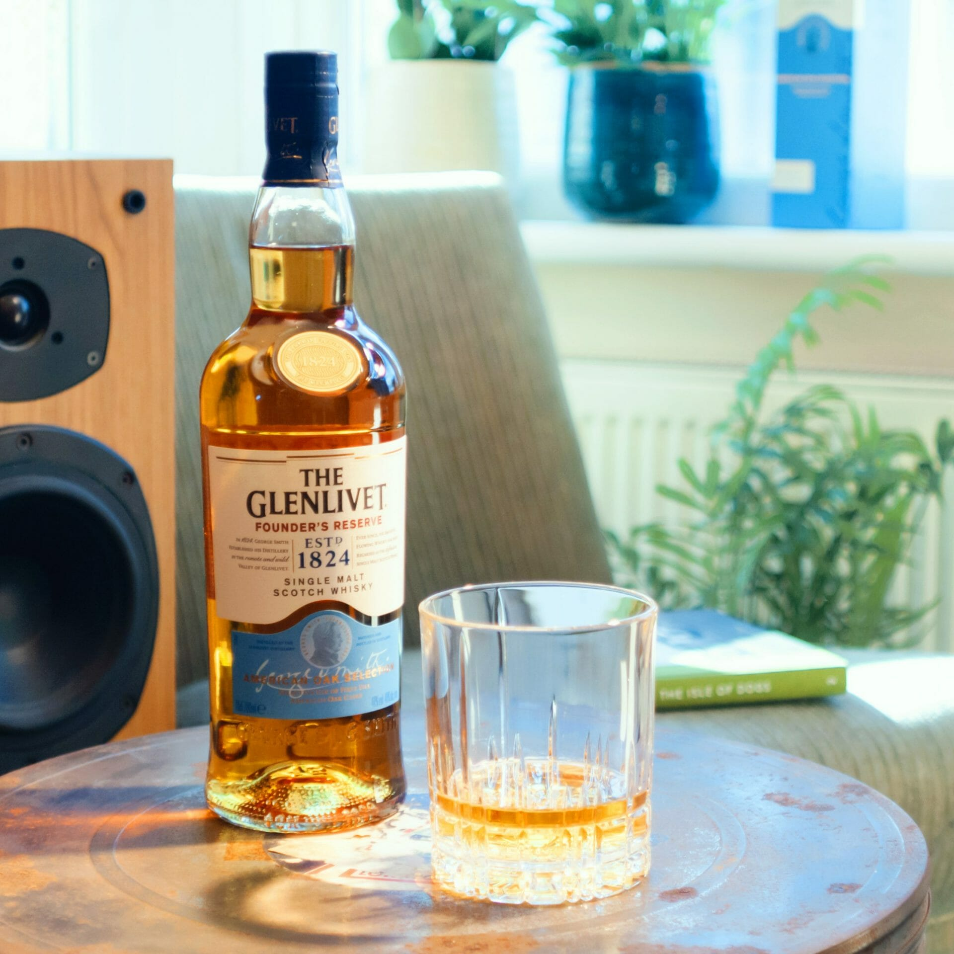 The Glenlivet Spirit Founder's Reserve Whisky Does Not Believe in Age Statements
